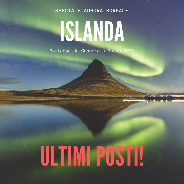 Viaggi di gruppo islanda ultimi posti