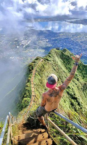 mente nomade hawaii stairway to heaven